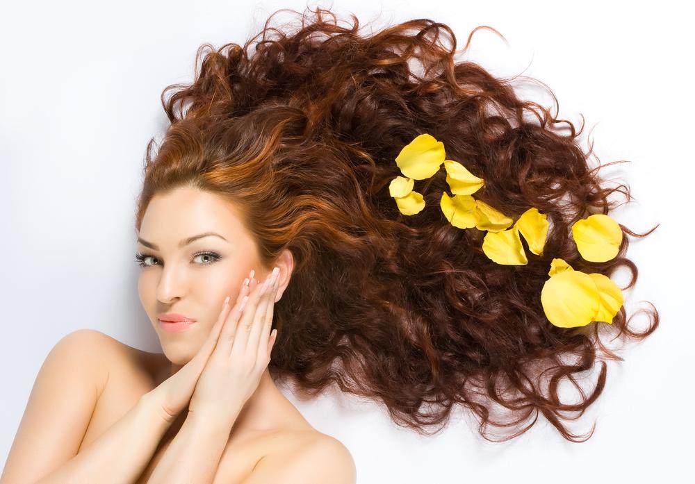 Уход,волосами, Красивые, волосы, Массаж головы,для, роста, волос,