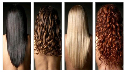 Типы-волос