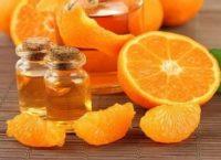 Маски с маслом мандарина