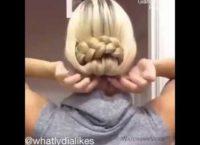 прическа из длинных волос