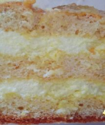 Белковый крем для торта