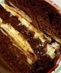 Торт Черничная Вивьен