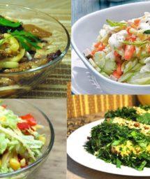 Топ 5 Вегетарианских салатов