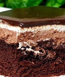 ШОКОЛАДНЫЙ-Торт-Пирожное-нежное